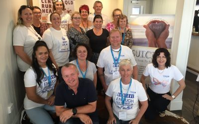 Locals show support for suicide prevention